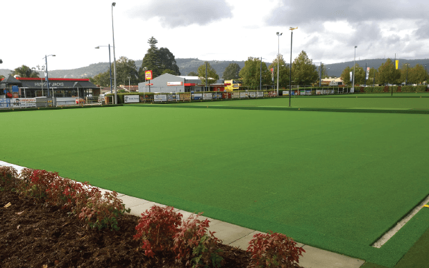bowling green after installation