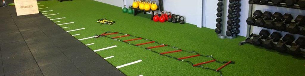 Artificial Grass on Gym Floor