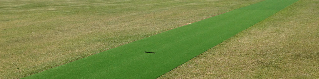Synthetic Grass Cricket Pitch