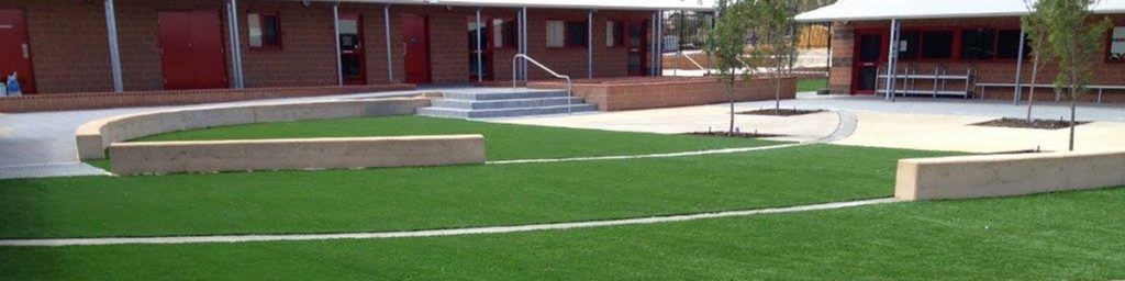 Synthetic Grass at School