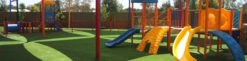 Synthetic Grass in Playground in Perth