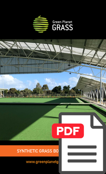 Artificial Turf for Bowling Greens Brochure