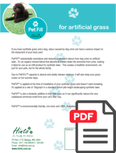 Hinto - Petfill - Artificial Grass For Dogs - Made For Perth