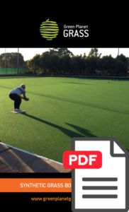 synthetic grass bowling greens flyer