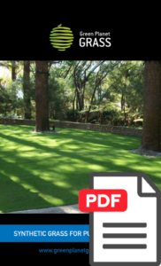 Synthetic Grass for Public Spaces Flyer