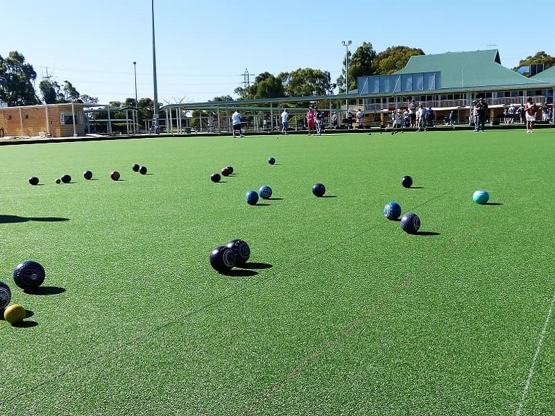 Synthetic Bowling Greens Maintenance Service - Green Planet Grass