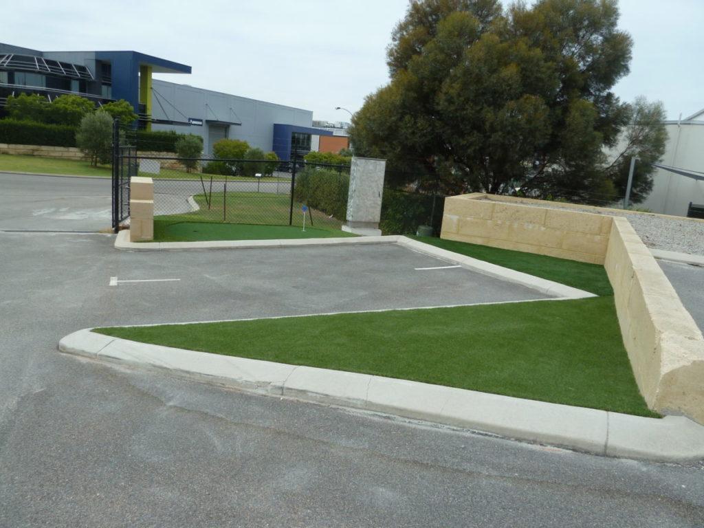 Showroom & Outdoor Display - Green Planet Grass