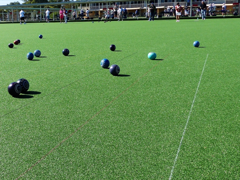 Synthetic Grass in Retirement & Aged Care Facilities - Ledge Point Country Club - Green Planet Grass