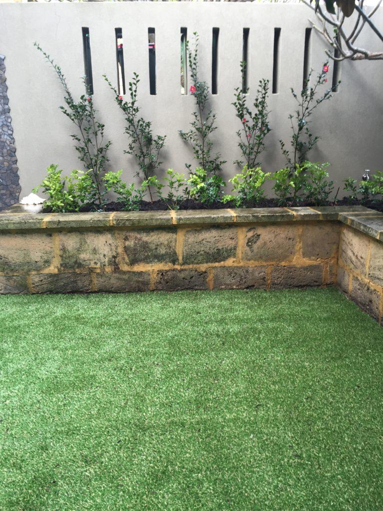Artificial Grass Installation Example - Green Planet Grass