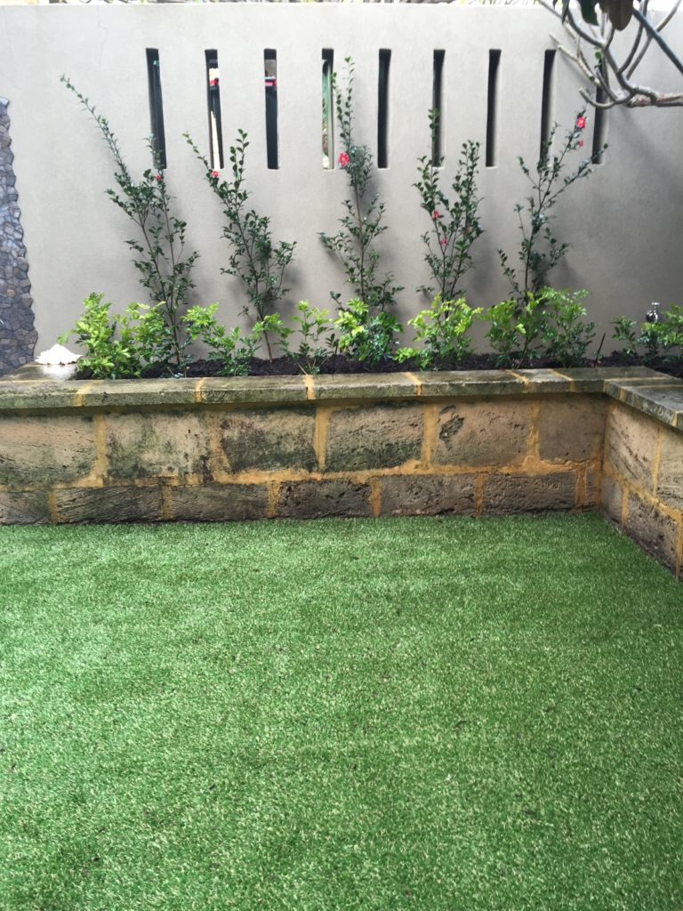 Artificial Grass Installation Example