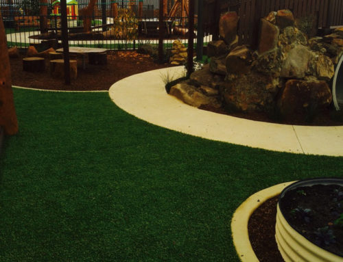 Artificial Lawn & Softfall Rubber for Child Care Centres & Playgrounds