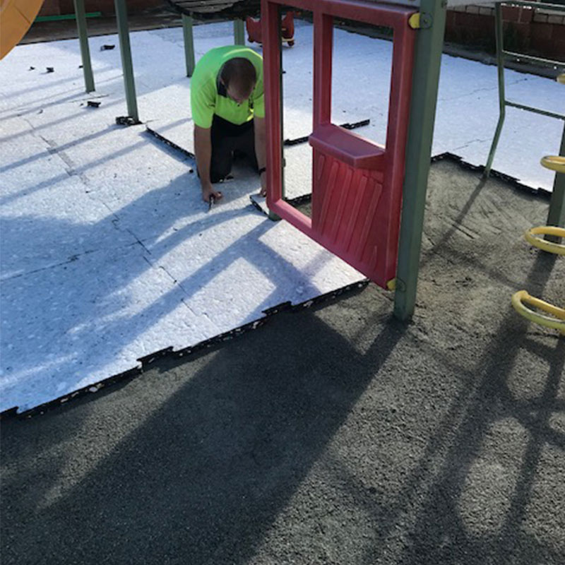 Shock-Pad For Playgrounds & Sporting Applications - Green Planet Grass