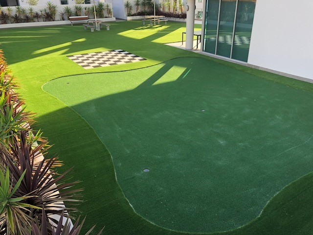 Synthetic Grass in Aged Care Facilities - Green Planet Grass