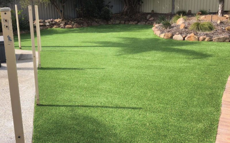 From Desolate Sand Patch to Backyard Oasis - Green Planet Grass