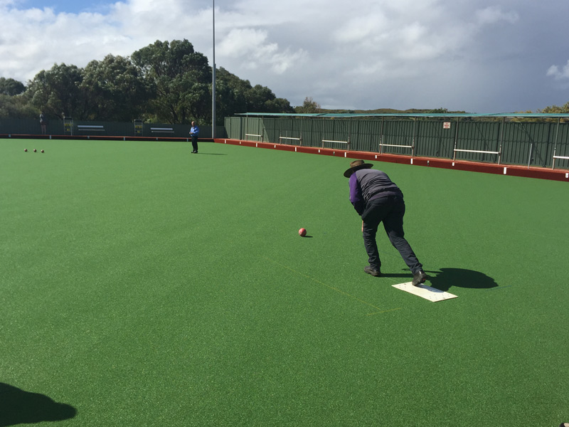 Synthetic Grass for Bowling Greens Excel/UltraMax - Green Planet Grass