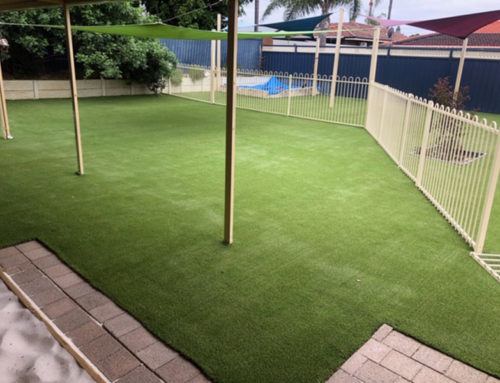 Synthetic Grass & Softfall Rubber For Childcare Centres
