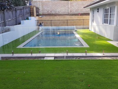 Artificial Grass for Swimming Pool Areas