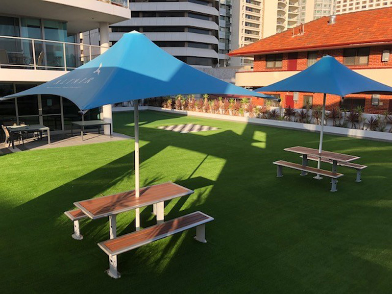 Synthetic Grass for Aged Care Facilities in Perth - Western Australia