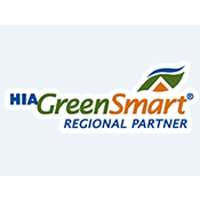 Hia Greensmart logo - High-quality Synthetic Grass Systems - Residential